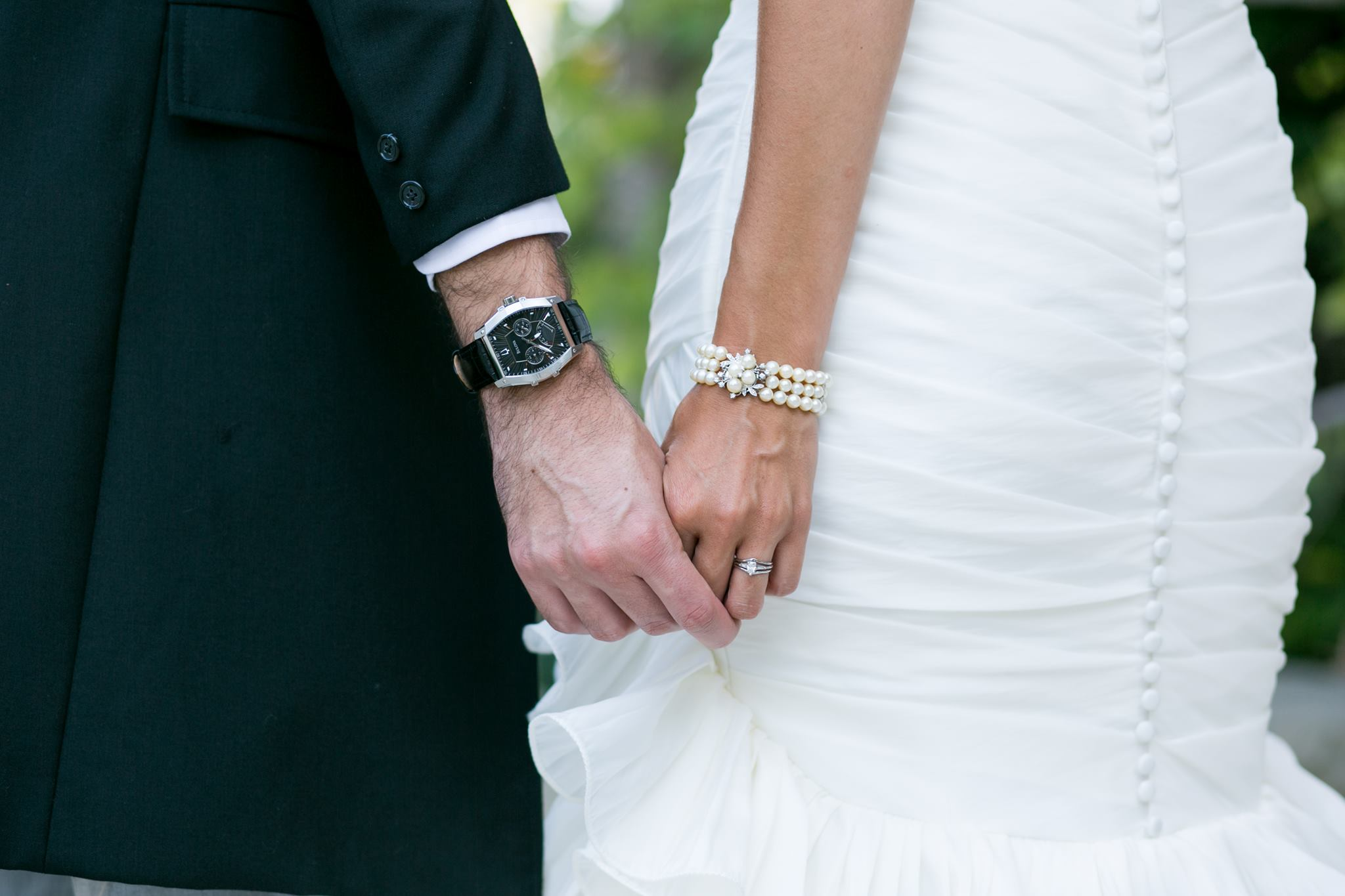 Watch Bracelet Bride Groom Gift Wedding Photo By Karen D Photography Of Santa Barbara